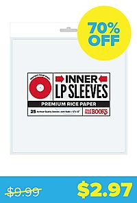 """Rice Paper 12"""" LP Inner Sleeve"""