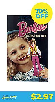 Vintage Barbie Colorforms Dress-Up Kit