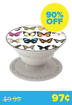 Butterfly Bell Jar Popsocket