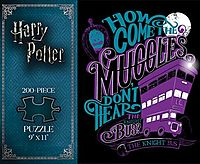 Knight Bus 200-Piece Puzzle (Harry Potter)