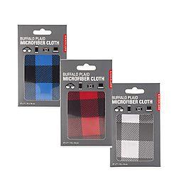Buffalo Plaid Microfiber Cloth (Assorted Colors)