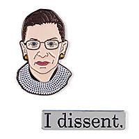 Ruth Bader Ginsburg Enamel Pins