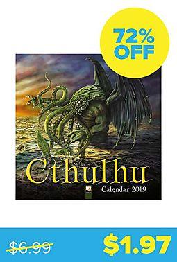 Cthulhu 2019 Wall Calendar