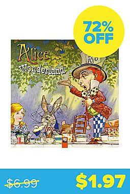 Alice In Wonderland 2019 Wall Calendar