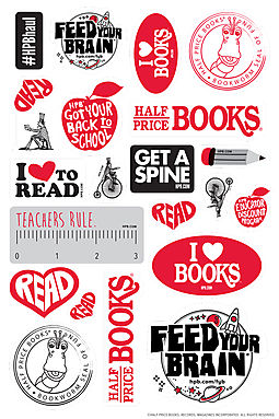 Free Sticker Sheet With 22 Stickers - HPB Exclusive