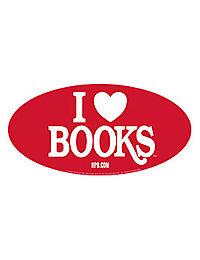 Free I <3 Books Sticker