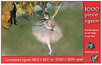 Degas The Star Dancer 1000pc Puzzle