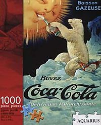 Coca-Cola Bear 1000pc Puzzle