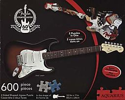 Fender Stratocaster 600pc 2-Sided Die-cut Puzzle