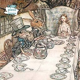 Arthur Rackham - Alice In Wonderland Tea Party 1000pc Puzzle