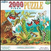 Garden Creatures 2000pc Puzzle
