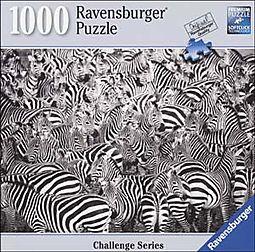 Zebra Challenge 1000pc Puzzle