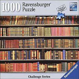 Book Shelf Challenge 1000pc Puzzle