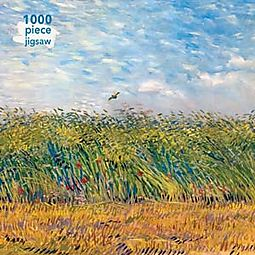 Van Gogh - Wheat Field With A Lark 1000pc Puzzle