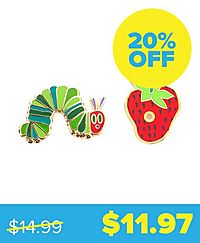 The-Very-Hungry-Caterpillar Enamel Pin Set