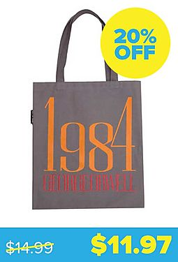 1984 George Orwell Tote Bag