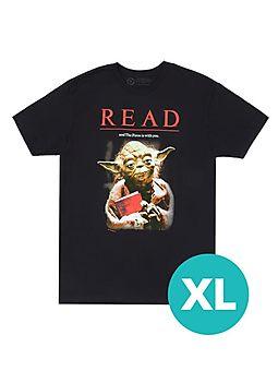 Yoda Star Wars READ Unisex T-Shirt - Unisex X-Large
