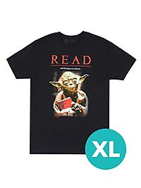 Yoda Star Wars READ Unisex T-Shirt - Unisex X-Large