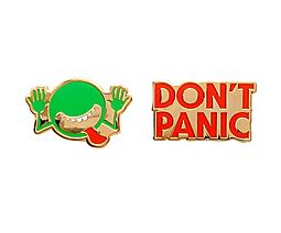 The Hitchhiker's Guide to the Galaxy Pin Set