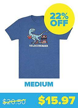 Velocireader T-shirt - Unisex Medium